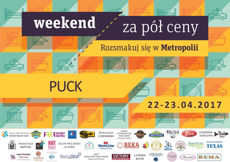 Weekend Za Pół Ceny 2019 News: Weekend Za Pół Ceny W Pucku 22-23.04.2017